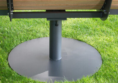 Outdoorliege - Bodenplatte